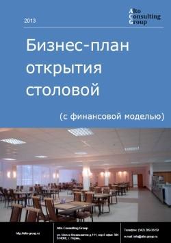 Бизнес-план открытия  столовой (с финансовой моделью)
