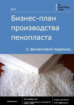 Бизнес-план производства пенопласта (с финансовой моделью)