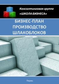 Бизнес план производство шлакоблоков