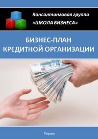 Бизнес план кредитной организации