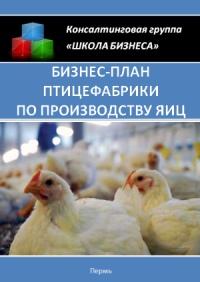Бизнес план птицефабрики по производству яиц