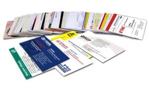 Преимущества визитных карточек как рекламной продукции